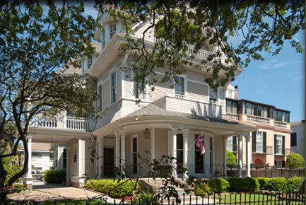 Outside View of the Grand Victorian New Orleans Bed and Breakfast