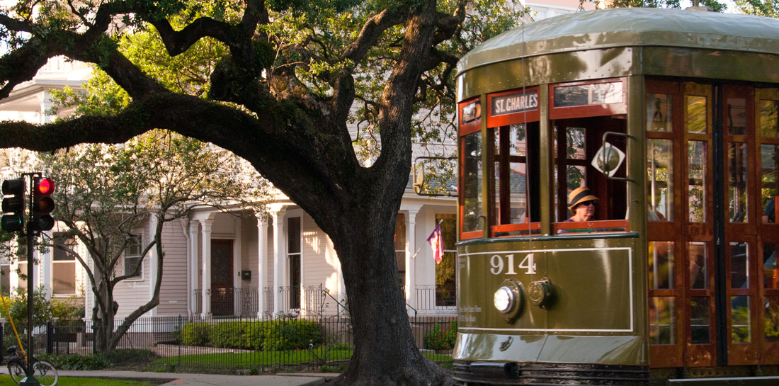 B&B near a New Orleans Trolley