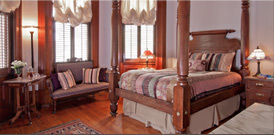New Orleans bed and breakfast Room