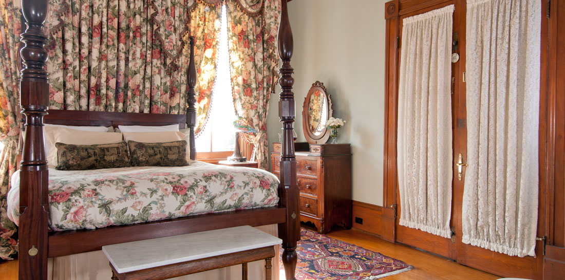 The Greenwood Suite in a Bed and Breakfast in New Orleans LA