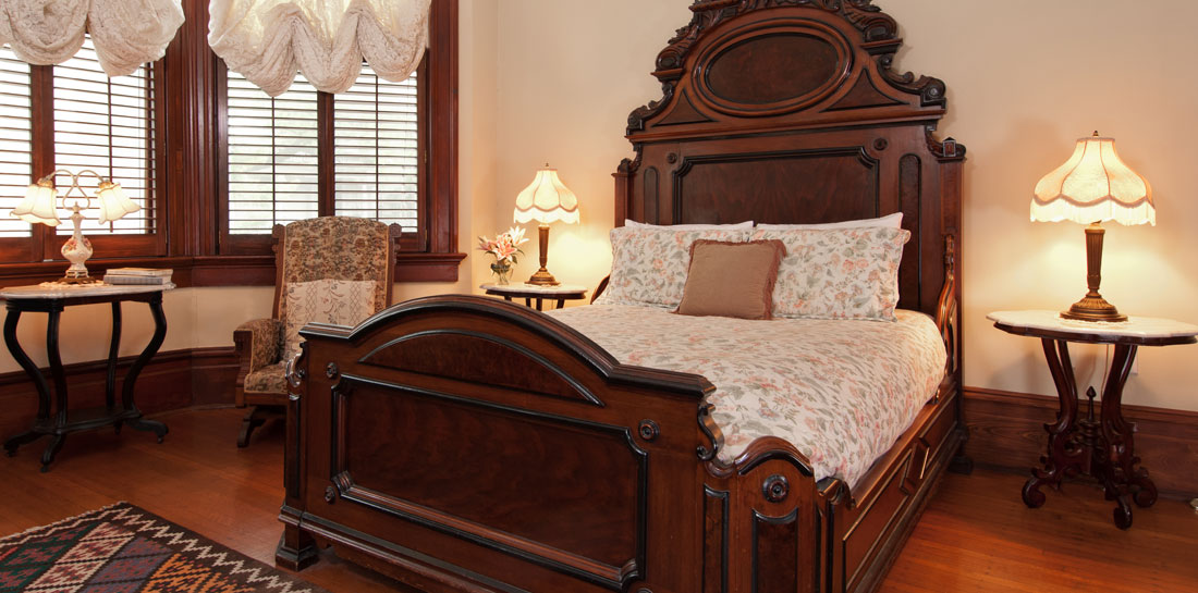 Louisiana Bed and Breakfast Bedroom