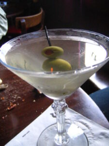 Martini for lunch?