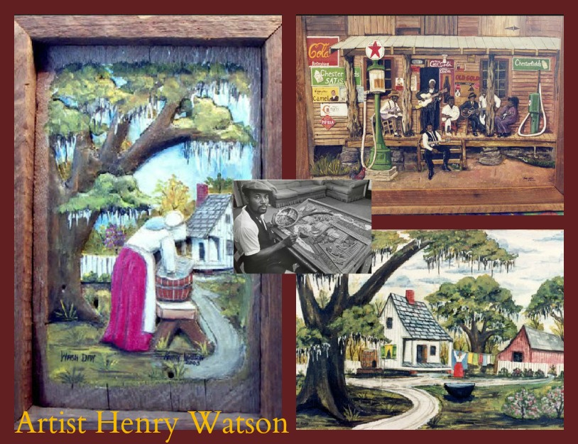 Henry Watson Paintings in our New Orleans Inn