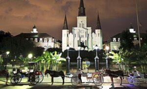 honeymoon in New Orleans